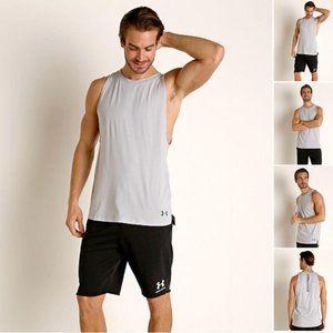 Under Armour Men UA Baseline Cotton Muscle Shirt S